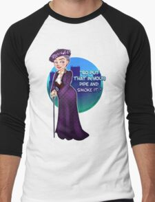 Violet Crawley, the Dowager Countess of Grantham Men's Baseball ¾ T-Shirt