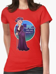 Violet Crawley, the Dowager Countess of Grantham Womens Fitted T-Shirt