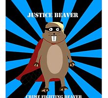 Justice Beaver by pickledbeets