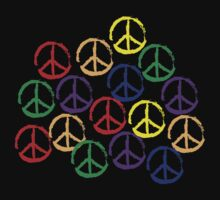 Peace Sign in all colors by egrubbs