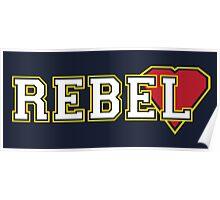 Rebel heart [varsity] Poster