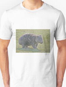 Wombat on Walkabout Unisex T-Shirt