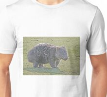 Wombat on Walkabout Unisex T-Shirt
