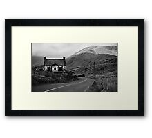 Ruined Cottage Framed Print