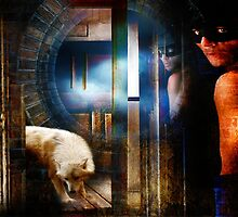 Wolf at the Door by Nadya Johnson