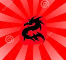 Descover your own dragon. Sticker