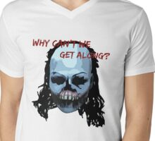 UNTIL DAWN - WHY CAN'T WE GET ALONG? Mens V-Neck T-Shirt