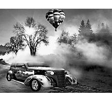 winter wonderland with a twist Photographic Print