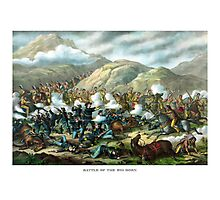 Battle Of The Big Horn -- General Custer Photographic Print