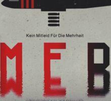 KMFDM Bomber Sticker