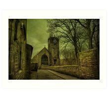 St Michael's And All Angels' Parish Church, Haworth Art Print