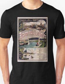 Gustave Fraipont Affiche Ouest Argenteuil Mantes T-Shirt