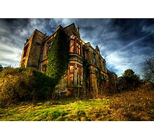Nocton Hall Photographic Print