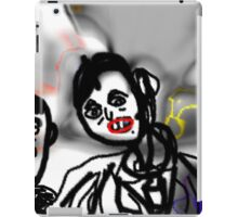 The Vampire and the Punk  iPad Case/Skin