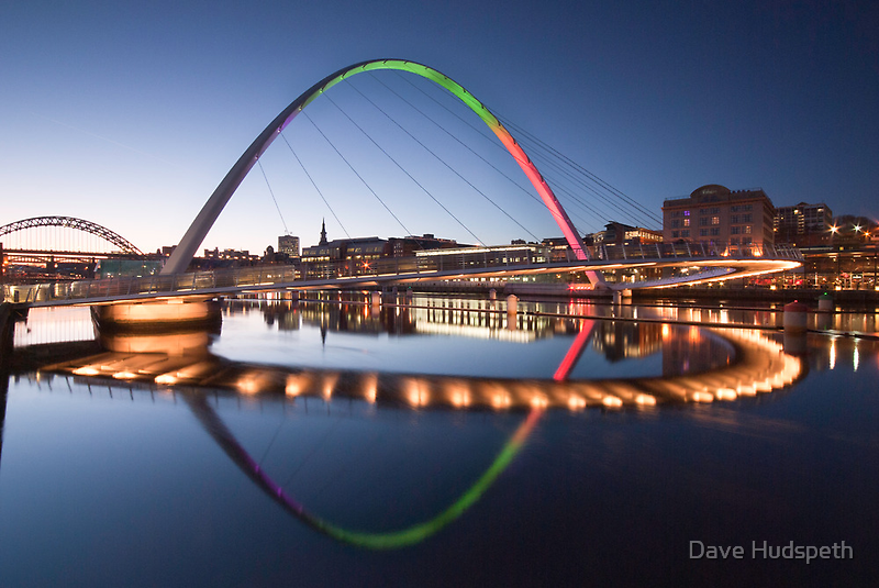 Rainbow Bridge by Dave Hudspeth