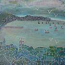 A grey day in St Ives by Jenny Urquhart