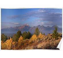 Grand Teton Autumn Poster