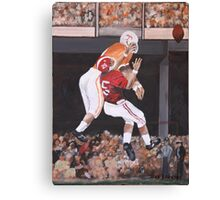 Tennessee vs Alabama 1967 Canvas Print