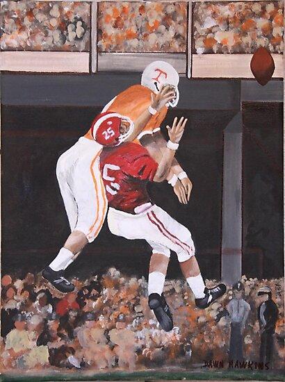 Tennessee vs Alabama 1967 by Dawn  Hawkins