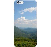 Blue Ridge Cloudy Sky iPhone Case/Skin