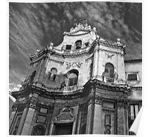 Chiesa di San Placido - Catania Poster