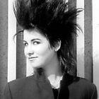 1984 - berlin: the punk girl by moyo