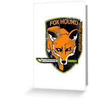 Foxhound Greeting Card