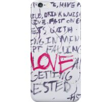 Hunter S. Thompson Quote iPhone Case/Skin