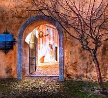 Castle archway by terezadelpilar~ art & architecture