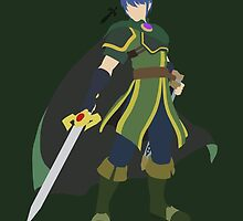 Marth (Green) - Super Smash Bros. by samaran
