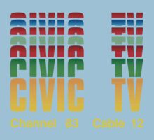 Civic TV Baby Tee