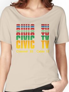 Civic TV Women's Relaxed Fit T-Shirt