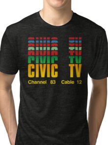 Civic TV Tri-blend T-Shirt