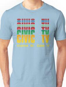 Civic TV Unisex T-Shirt