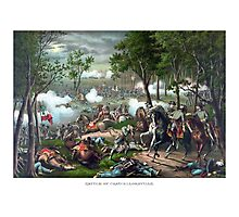 Battle of Chancellorsville -- Death Of Stonewall Jackson Photographic Print