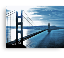 Blue Day @ Golden Gate Bridge Canvas Print