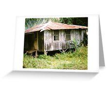 Old Shack in Waipio Valley, Big Island, Hawai`i Greeting Card