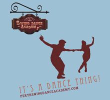 Perth Swing Dance Academy  One Piece - Short Sleeve