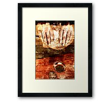 a supper Framed Print