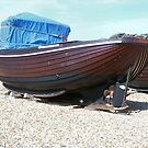 Wooden fishing boat  by Woodie