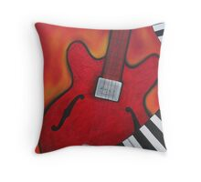 The music plays on Throw Pillow