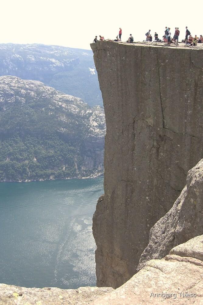 On the edge by Annbjørg  Næss