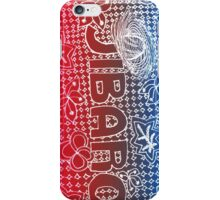 Jibaro Red, White and Blue iPhone Case/Skin