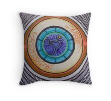 """Anja: The Third Eye Chakra"" Throw Pillow"