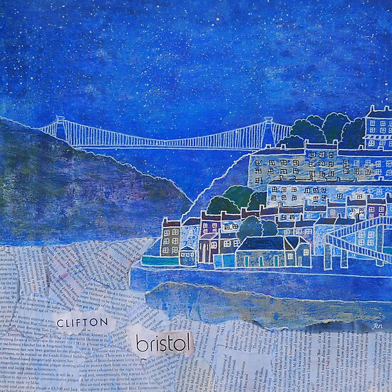 Clifton Suspension Bridge, Bristol, UK, Brunel by Jenny Urquhart