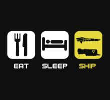 EAT. SLEEP. SHIP.  by Xtopher98