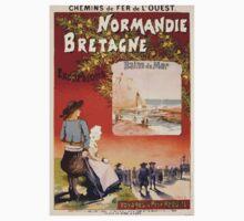 Gustave Fraipont Affiche Ouest Normandie Bretagne Baby Tee