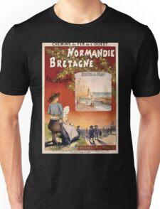 Gustave Fraipont Affiche Ouest Normandie Bretagne Unisex T-Shirt