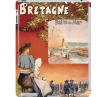 Gustave Fraipont Affiche Ouest Normandie Bretagne iPad Case/Skin