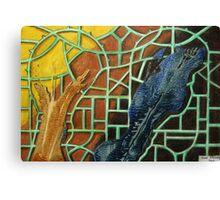 326 - STRING ART V - DAVE EDWARDS - MIXED MEDIA - 2011 Canvas Print